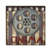 Benzara Ravishing Wood Metal Movie Plaque