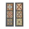 Decorative Wood Wall Panel 2 Assorted, Multicolor