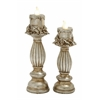 Benzara Set Of 2 Thrilling Led Candle Light