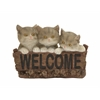 Benzara Adorable Cat Welcome Sign
