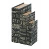 Faux Book Boxes With European Landmarks
