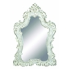 Mirror In Silver Color With Traditional Design