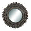 "Benzara Wall Accent Mirrors- Metal Mirror 34""D"