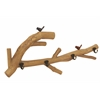 Benzara Stunning Nature And Lovely Bird Themed Wood Wall Hook