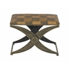 Durable Metal Fabric Foot Stool