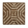 Appealing Wood Wall Decor, Beige & Brown