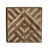 Striking Wood Wall Decor, Beige & Brown