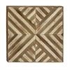 Stunning Wood Wall Decor, Beige & Brown