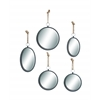 Benzara Mirror In Round Shape With Elegant Design (Set Of 5)