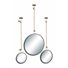 Benzara Classy Metal-Framed Mirror Set