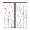 Benzara Mesmerizing Styled Metal Wall Décor 2 Assorted