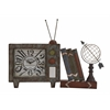 Attractive Antique Styled Metal Table Clock
