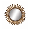Benzara The Radiating Metal Wall Mirror