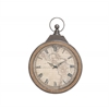 Benzara Enthralling Styled Metal Rowall Clock