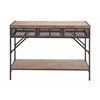 The Perfect Wood Metal Console