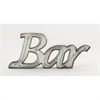 Smart Metal Led Bar Sign, Off?white
