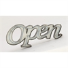 Unique Metal Led Open Sign, Off-white