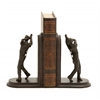 Benzara Stylish And Unique Golf Themed Bookends