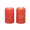 Cool Set Of 2 Flameless Candle With Remote