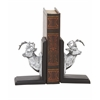 "Benzara Remarkable Polystone Deer Bookend Pair 4""W, 7""H"