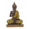 """Benzara Striking Polystyrene Buddha 6""""W, 9""""H"""
