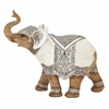 "Striking Polystyrene Elephant 12""W, 9""H"