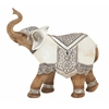 "Striking Polystyrene Elephant 9""W, 9""H"