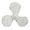 Amazing Metal Propeller Wall Decor, White