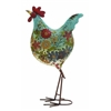 Benzara Multicolored Attractive Styled Metal Rooster