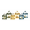Benzara The Intricate Set Of 2 Metal B/Cages 3 Assorted