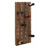 "Wall Wine Racks- Wood Wine Rack 57""H, 21""W"