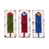 Benzara Wall Hook Assorted With Vibrant Colors - Set Of 3