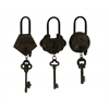 Historic Antique Metal Key Set