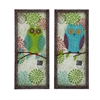 Benzara Austere Attractive Customary Owl Plaque