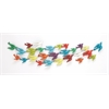 Benzara The Colorful Metal Bird Wall Decor