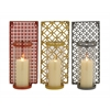 The Enclosed Metal Glass Wall Sconce 3 Assorted