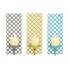 Benzara The Amazing Metal Wall Sconce 3 Assorted