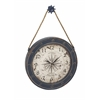 Classily Designed Metal Wood Wall Clock