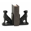 "Library Polystone Dog Bookend St 8""H, 6""W"
