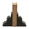 Benzara Old Look Typewriter Themed Book End Set