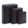 Benzara Dictionary Of Theology Book Box Set In Smooth Leather
