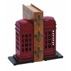 "Library Metal Bookend Pair 9""H, 4""W"