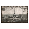 Wall Art Of Postcard Style Paris Eiffel Tower