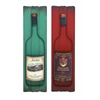 Benzara Rustic Wine Label Style Wall Décor
