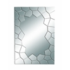 Contempo Looking Glass Mirror With Cracked Edges