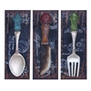 Benzara Colorful Flatware And Dinner Décor For The Dining Room