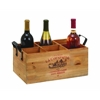 Benzara Wine Holder Simple In Design, Similar To A Tray