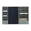 Benzara Utility Metal Message Board With With Numbering