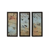 Benzara Alluring Styled Metal Wall Decorative 3 Assorted