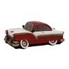Benzara Brown Polished Fancy Polystone Car Piggy Bank